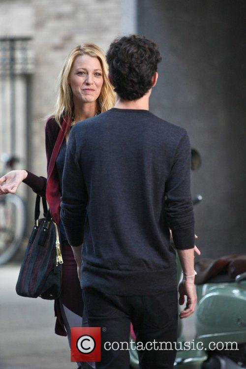 Blake Lively and Penn Badgley 3