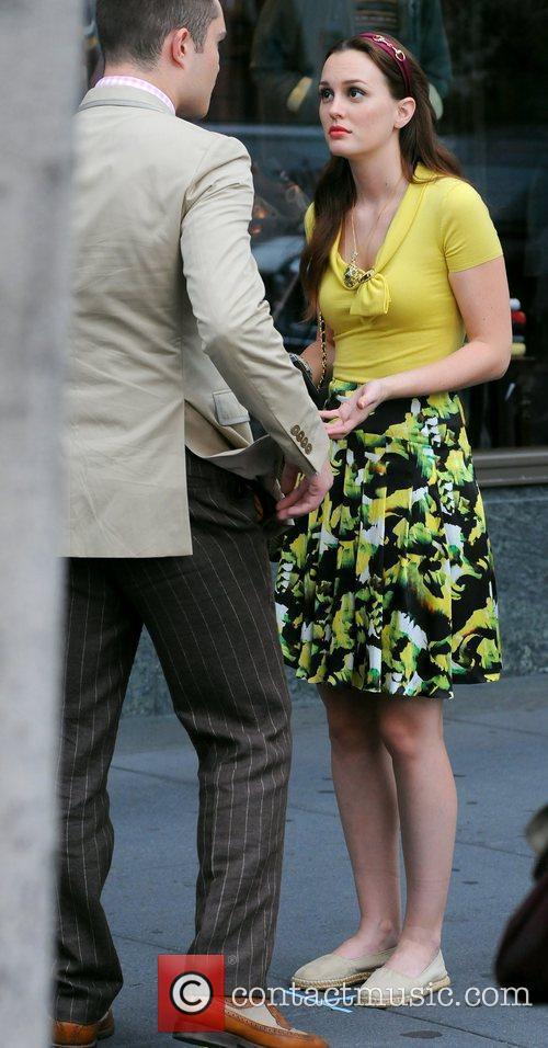 Filming 'Gossip Girl' on location in Manhattan