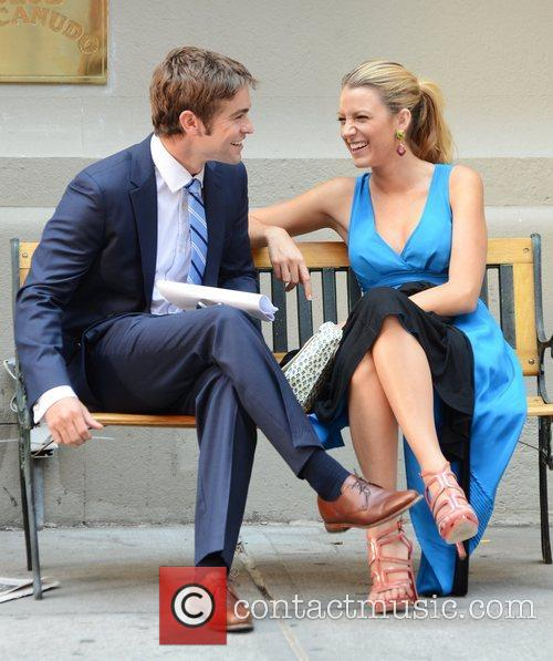 Chace Crawford and Blake Lively 1
