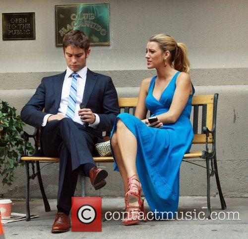 Chace Crawford and Blake Lively 2