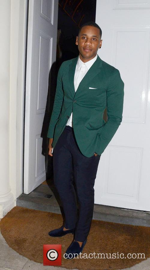 Celebrities leaving the London collections GQ Dinner held...