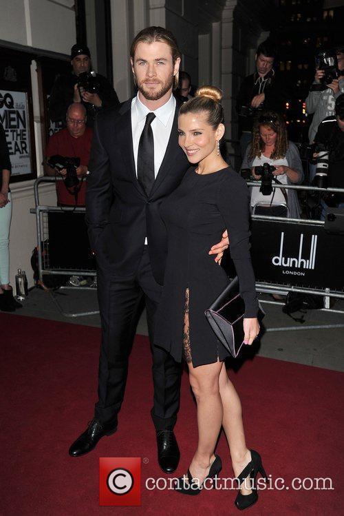 Chris Hemsworth and Elsa Pataky 8