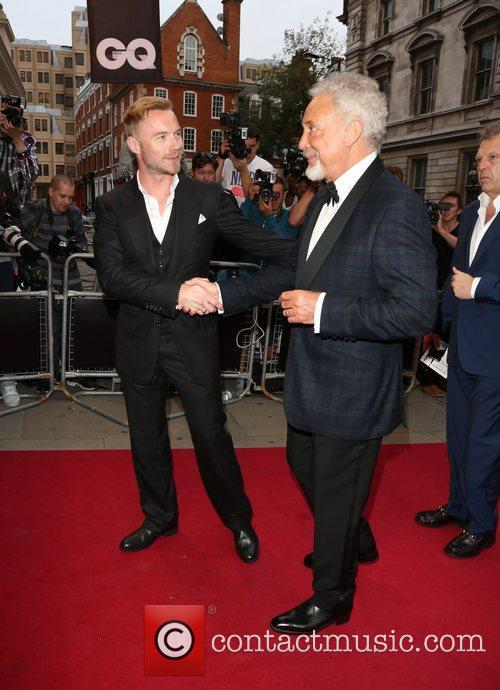 Ronan Keating and Tom Jones 1