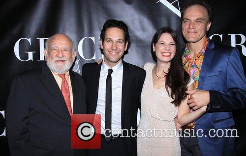 Edward Asner, Paul Rudd, Kate Arrington and Michael Shannon 2