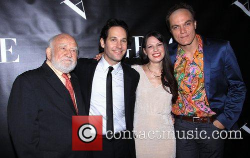 Edward Asner, Paul Rudd, Kate Arrington and Michael Shannon 3