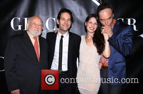 Edward Asner, Paul Rudd, Kate Arrington and Michael Shannon 1