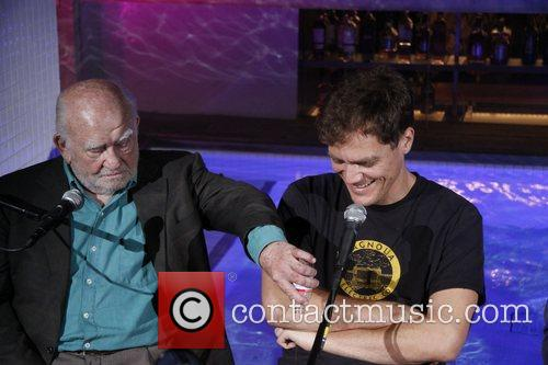 Ed Asner and Michael Shannon 3