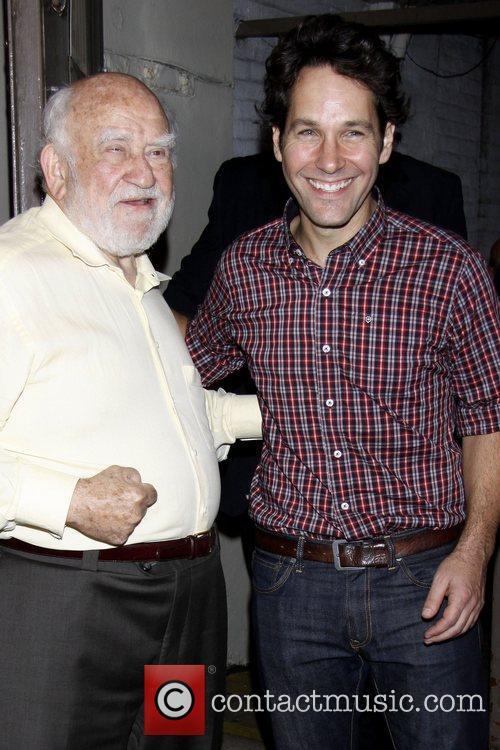 Ed Asner and Paul Rudd 3