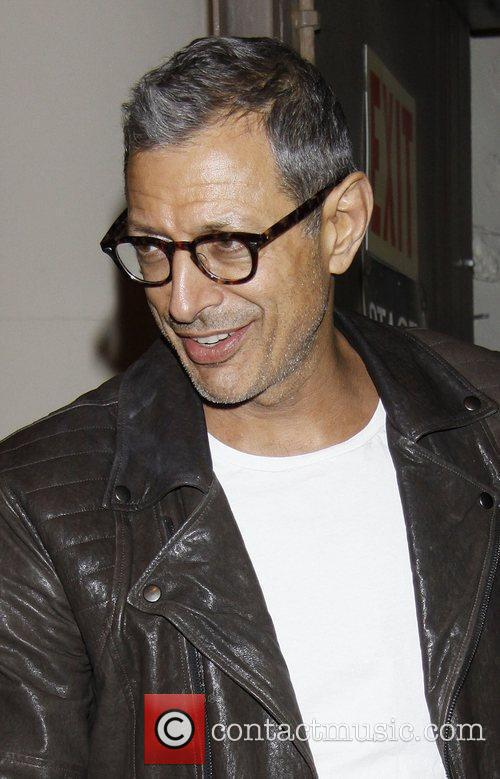 Jeff Goldblum  attending the first preview performance...