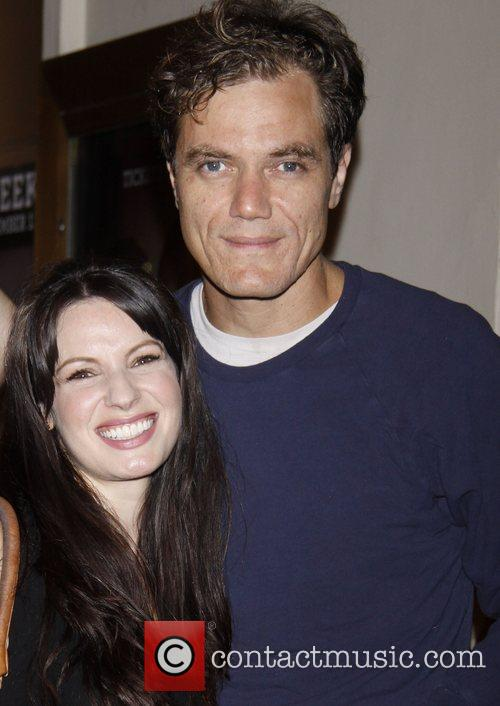 Kate Arrington and Michael Shannon attending the first...
