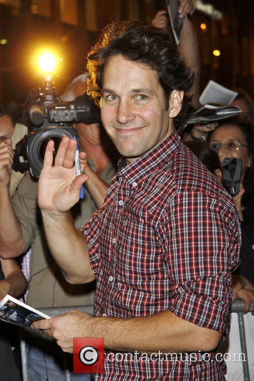 Paul Rudd  attending the first preview performance...