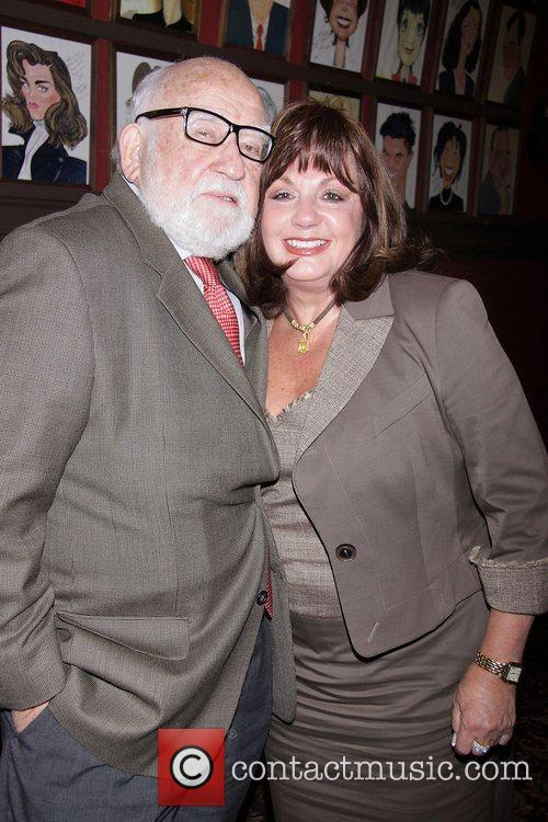 Ed Asner and Charlotte St. Martin at the...