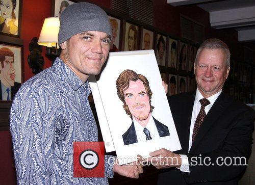 Michael Shannon and Max Klimavicius at the portrait...