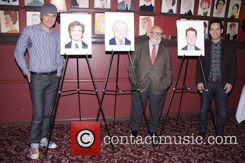 Michael Shannon, Ed Asner and Paul Rudd at...