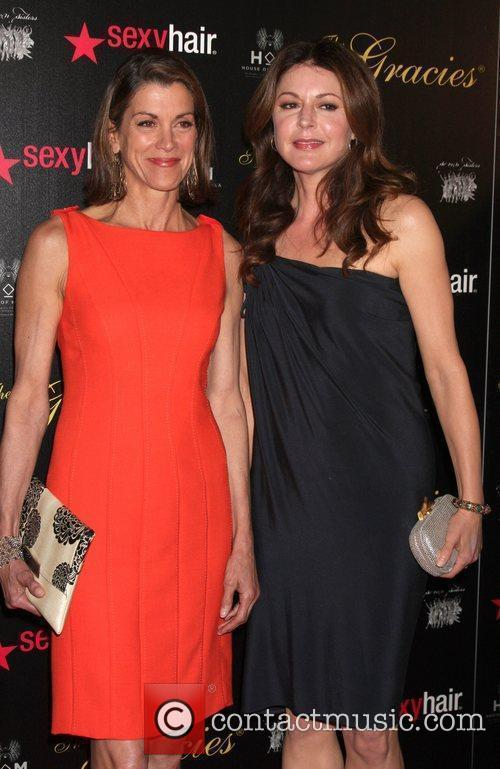 Wendie Malick, Jane Leeves and Beverly Hilton Hotel 2