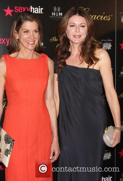 Wendie Malick, Jane Leeves and Beverly Hilton Hotel 1