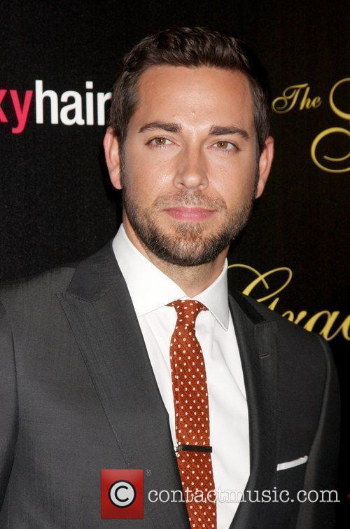 Zachary Levi and Beverly Hilton Hotel 2