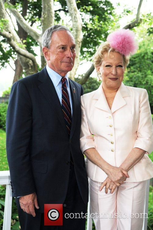 Mayor Michael Bloomberg, Bette Midler