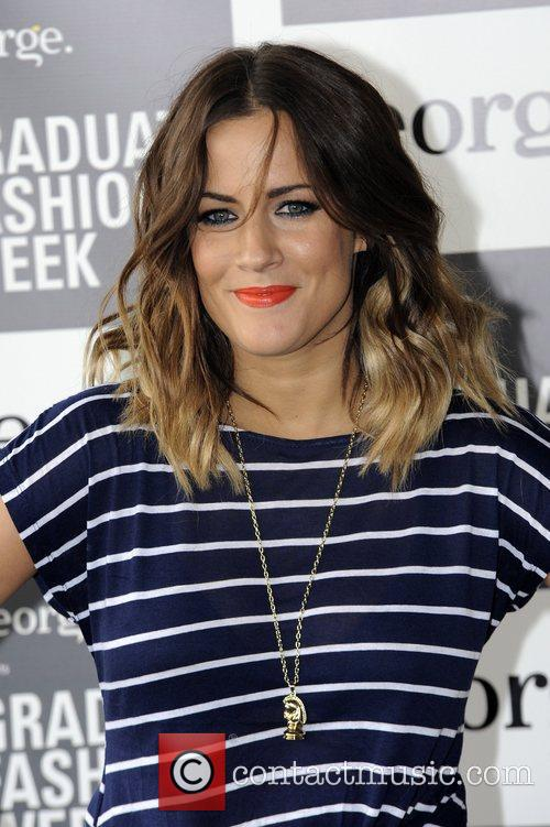 Caroline Flack Graduate Fashion Week 2012 - Gala...