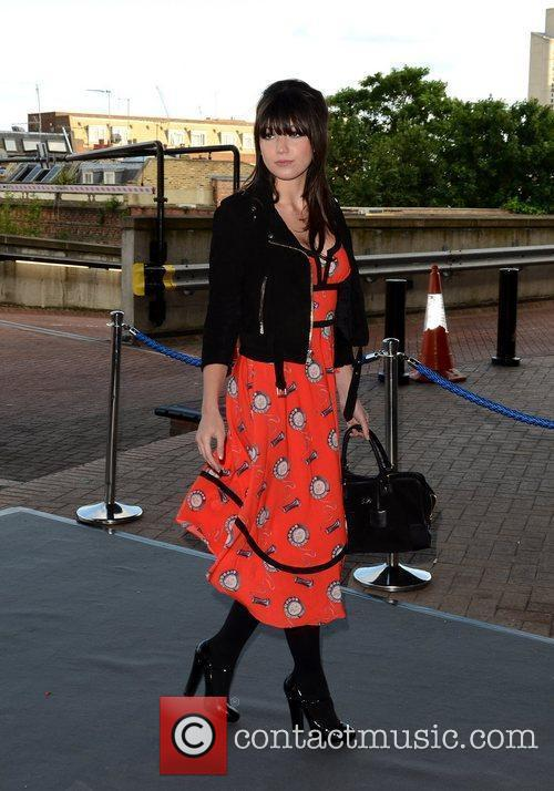 Daisy Lowe Graduate Fashion Week 2012 Gala Show...