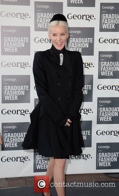 Daphne Guinness Graduate Fashion Week 2012 Gala Show...