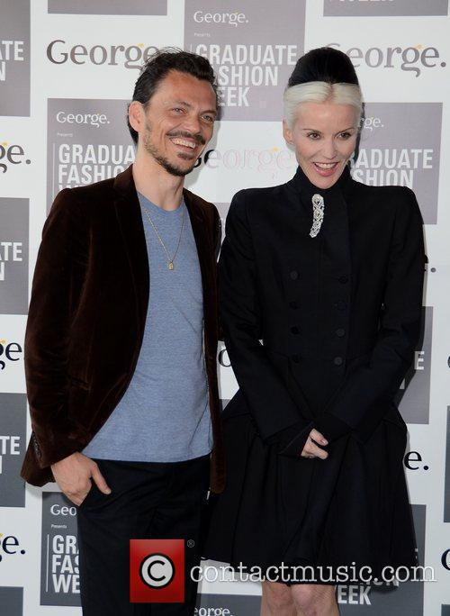 Matthew Williamson and Daphne Guinness Graduate Fashion Week...