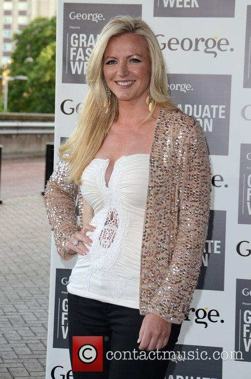 Michelle Mone Graduate Fashion Week 2012 Gala Show...