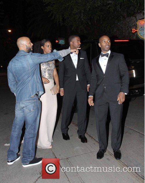 Kelly Rowland, Common and Grammy 2