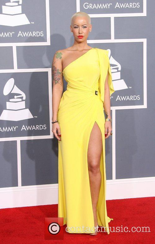 Amber Rose 54th Annual GRAMMY Awards (The Grammys)...