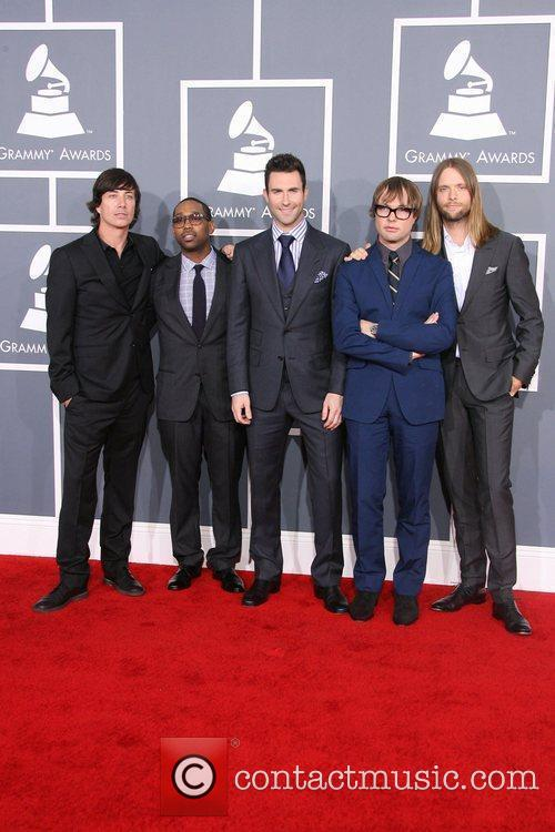 Jesse Carmichael, Adam Levine, James Valentine, Maroon 5, Grammy Awards and Grammy