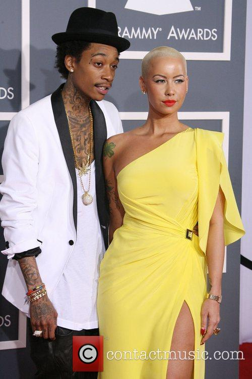 Wiz Khalifa, Amber Rose, Grammy Awards and Grammy 2