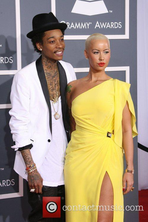 Wiz Khalifa, Amber Rose, Grammy Awards and Grammy 3