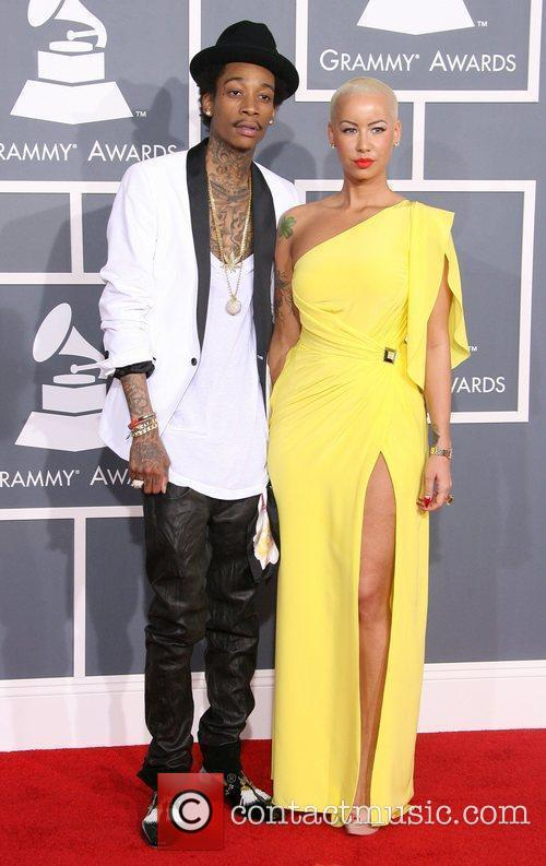 Wiz Khalifa, Amber Rose, Grammy Awards and Grammy 4