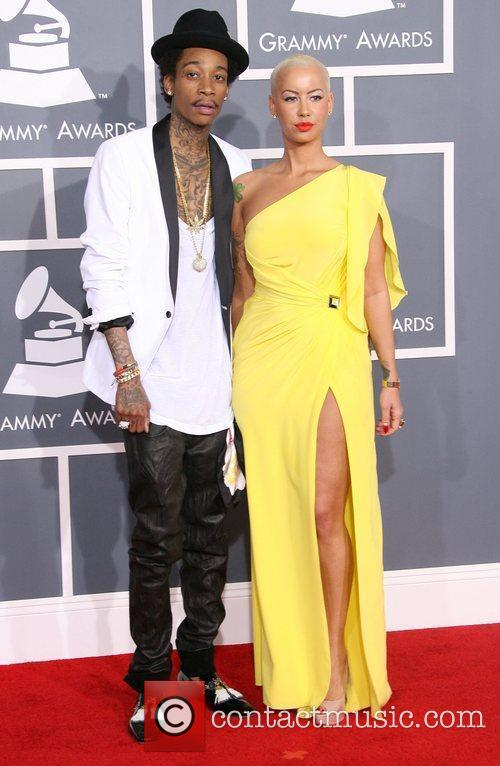 Wiz Khalifa, Amber Rose, Grammy Awards and Grammy 1