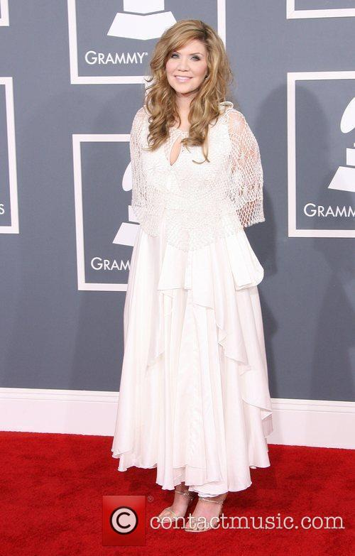 Alison Krauss at the Grammy Awards