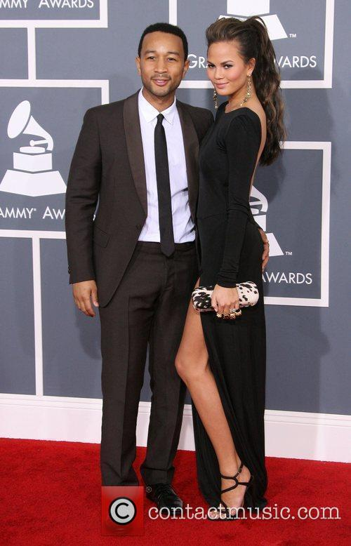 John Legend, Christine Teigen, Grammy Awards and Grammy 2