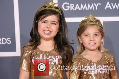 Sophia Grace and Rosie 54th Annual GRAMMY Awards...