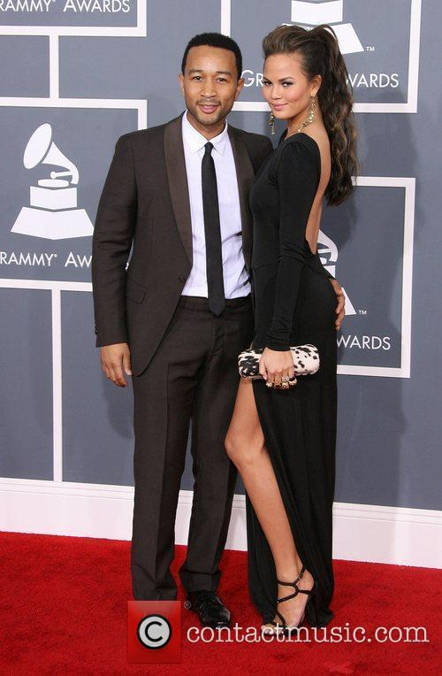 John Legend, Christine Teigen, Grammy Awards and Grammy 1