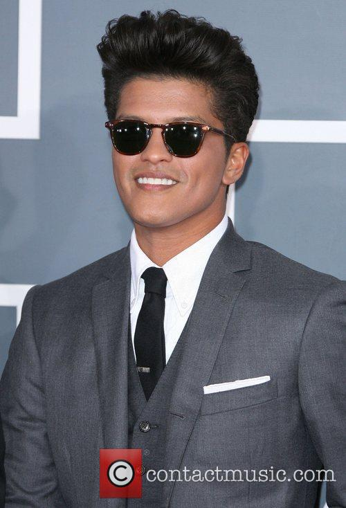 Bruno Mars and Grammy 3