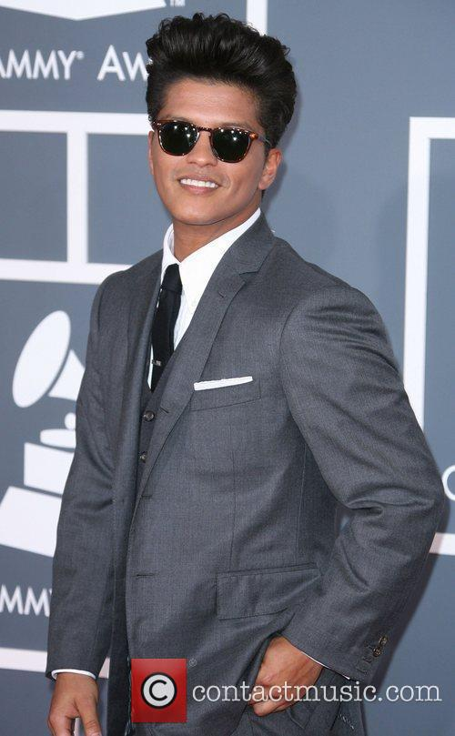Bruno Mars and Grammy 4