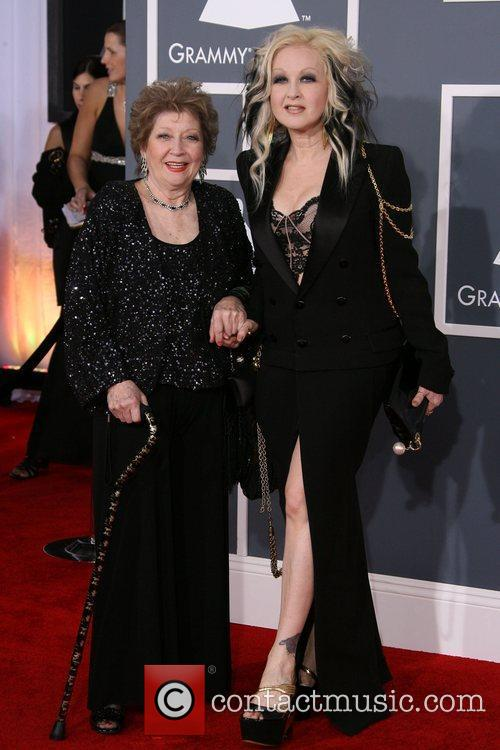 Cyndi Lauper and Grammy 3