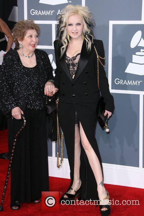 Cyndi Lauper and Grammy 4