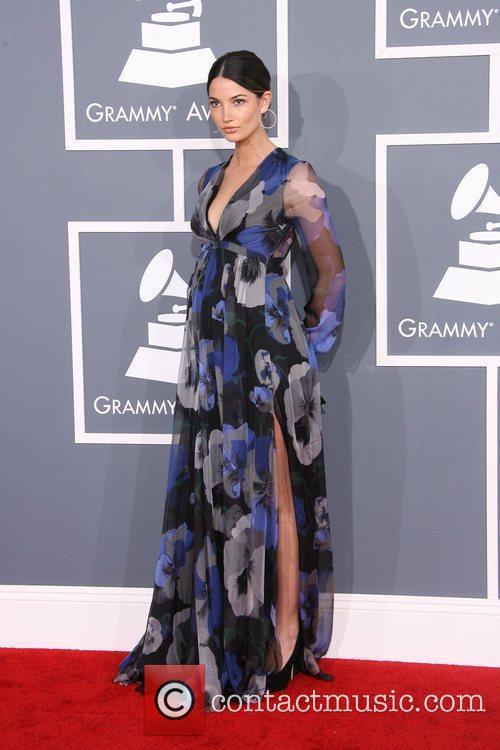 Lily Aldridge and Grammy 2