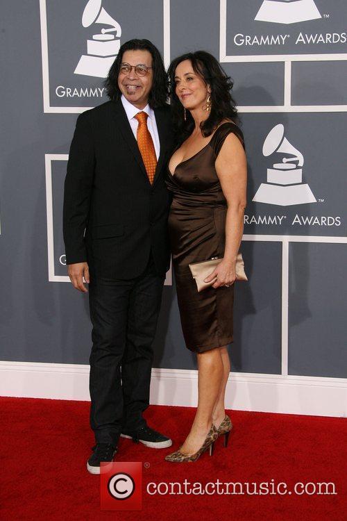 Jimmy Haslip and Nancy Haslip 54th Annual GRAMMY...