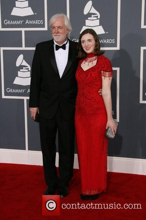 Robert Aldridge and Micaela Aldridge 54th Annual GRAMMY...