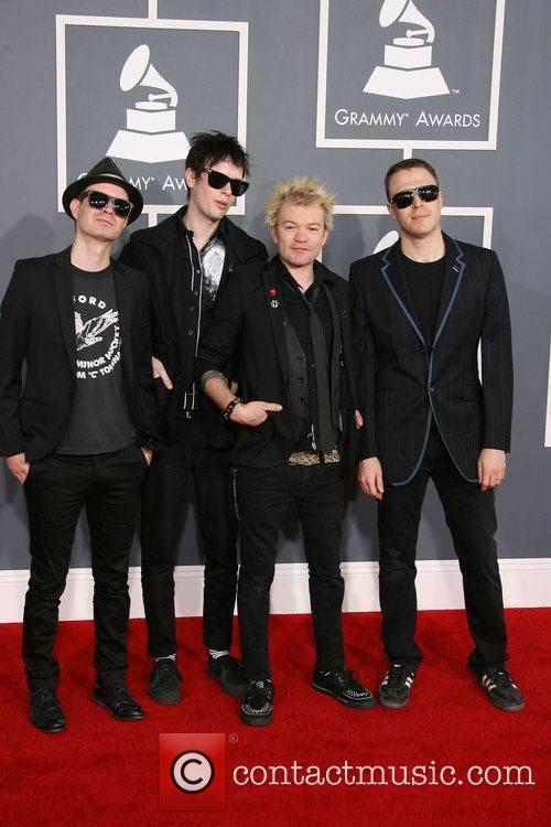 Deryck Whibley and Grammy 1