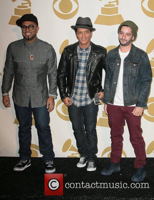 Bruno Mars and Grammy 5