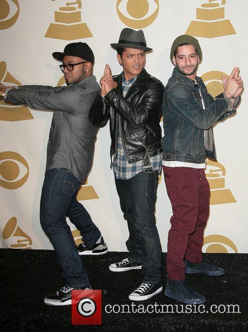 Bruno Mars and Grammy 1