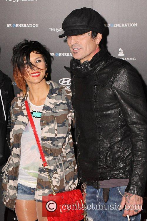 Tommy Lee and Grauman's Chinese Theatre 2