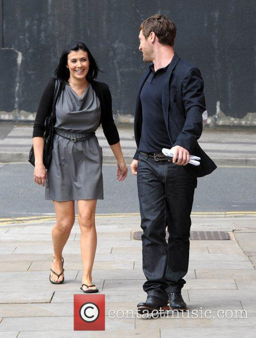Kym Marsh and Granada Studios 3